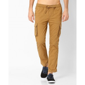 Teamspirit Cargo Pants with Elasticated Waistband