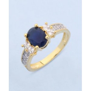 Voylla Designer Ring WIth CZ Embellishment For Women