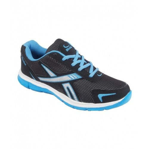 c0ae21a43880 Buy Hitcolus Black And Sky Blue Trendy Sport Shoes online