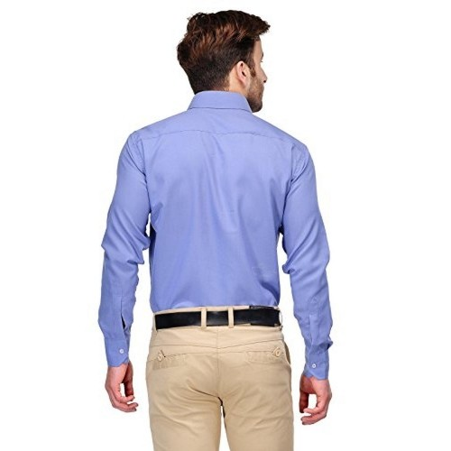 668f1cc53f1 Buy Koolpals Blue Cotton Solid Formal Shirts online