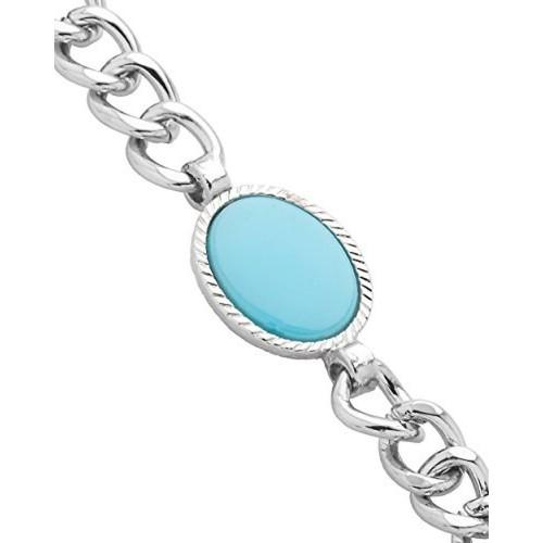 Buy Voylla Sterling Silver Plated Salman Khan Inspired Bracelet For