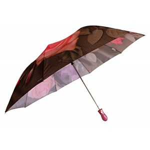 Sun Umbrella Sun Brand Aishwarya3 Rose 2 Fold Umbrella