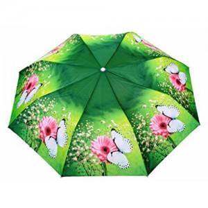 Sun Umbrella Sun Brand Faye 2- Automatic Open 3 Fold Umbrella