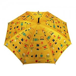 Sun Umbrella Sun Brand Bollywood - Long & Bend Handle Umbrella