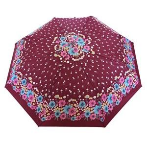Sun Umbrella Sun Brand Christina 7 - Automatic Open 3 Fold UV Protective Umbrella