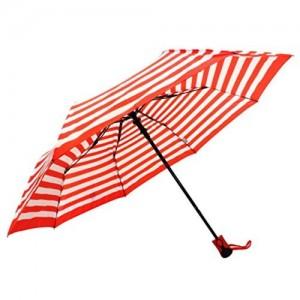 Sun Umbrella Sun Brand Stripes Red/White - 3 Fold Umbrella