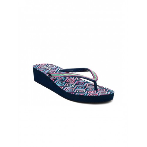 Lavie Blue EVA Flats Flip Flops