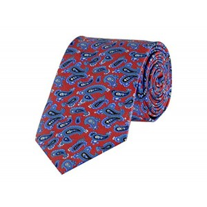 TieKart Tiekart Red Floral/Paisely Men Ties