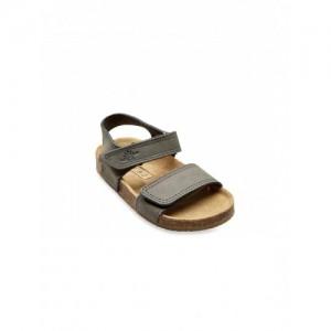 Next Boy's Grey Genuine Leather Sandals