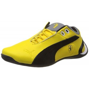 Puma Yellow Leather Unisex Future Cat M2 Sf Nm Jr Boat Shoes