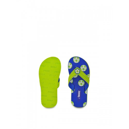 Beanz Beanz Boy's SoCer Royal Blue Flip-Flops and House Slippers - 13Kids UK/India (32 EU)(1 US)