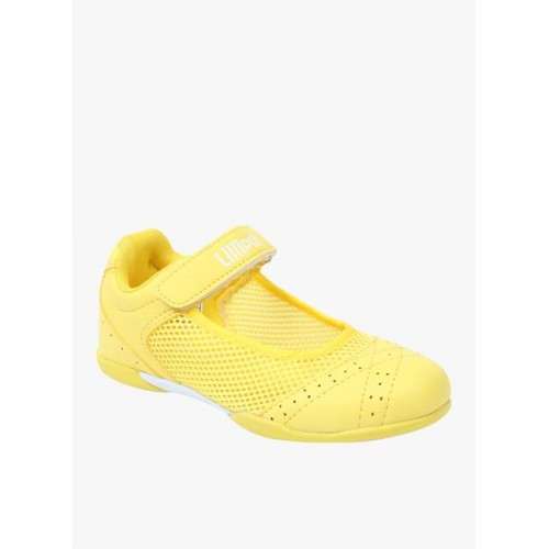 Lilliput Yellow Synthetic Belly Shoes