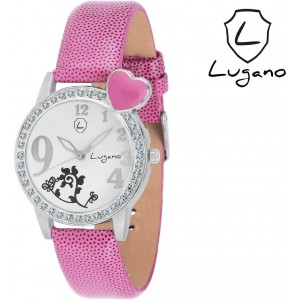 Lugano DE2019 Boutique Collection Analog Watch  - For Girls