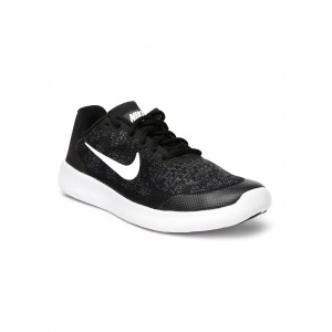 Nike Boys Black Running Shoes