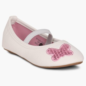 FAME FOREVER White Synthetic Butterfly Patch Bellies
