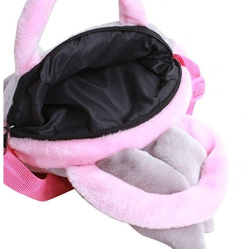 Tickles Tickles RABBIT SING BAG Soft Toy Plush Kids Birthday Gift 20 cm