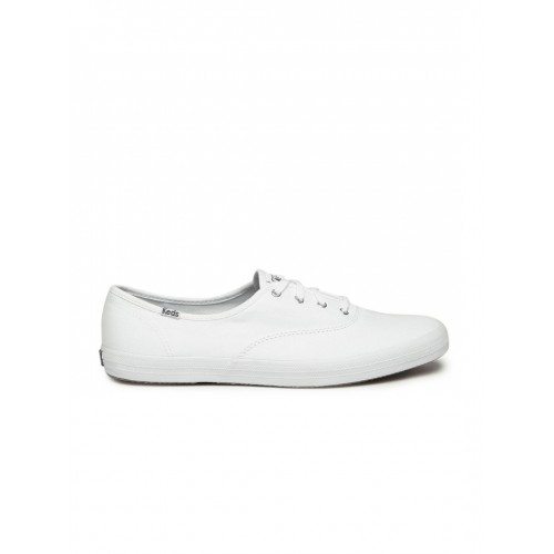 7995a0cd208a0 Buy Keds Women White Champion Solid Sneakers online