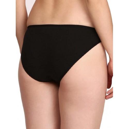 e360c8b38603a Buy Jockey black cotton bikini panty online