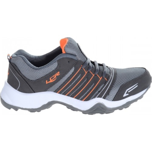 Lancer Gray Mesh Low Ankle Sports Shoes