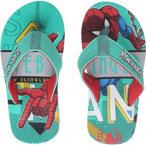Spiderman Boys Slip On Slipper Flip Flop