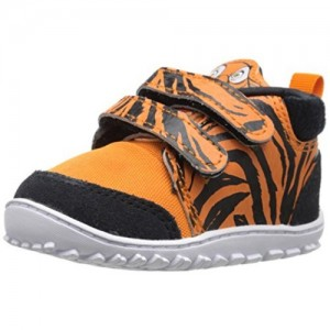 Reebok Black & Orange Printed Shoes