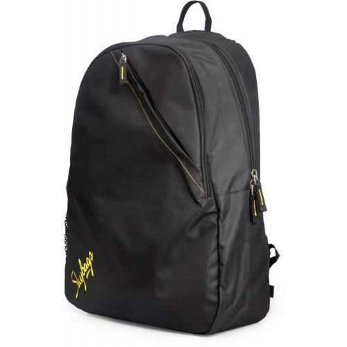 Skybags Black Polyester Solid Backpack