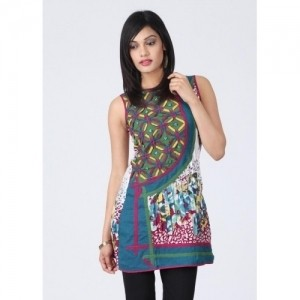 18 Fire Multicolor Casual Printed Women's Kurti