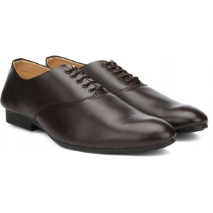 Vulcan Knight Coffee Lace Up Shoes