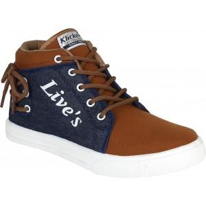 Oricum Brown & Navy Blue 678 Sneakers