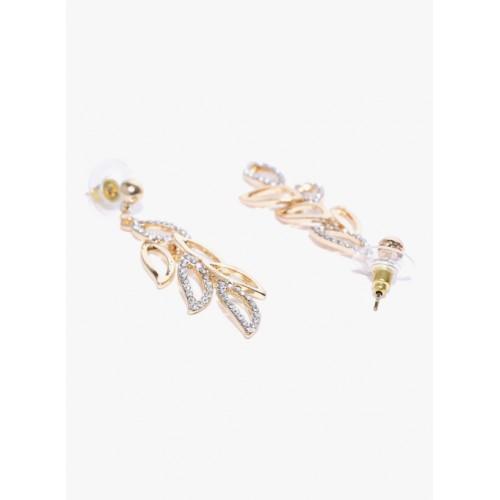 YouBella Youbella Multicolor Aaa Swiss Zircon Dangle & Drop Earrings For Women