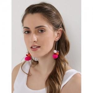 Blueberry  Boho Statement Earrings