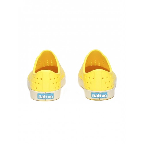 Native Shoes Unisex Yellow Perforated Jefferson Slip-On Sneakers