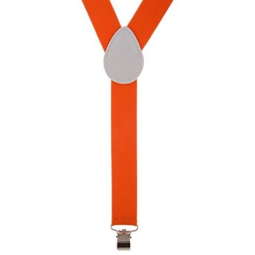 Zacharias Zacharias Orange Suspenders for Men