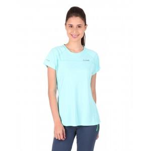 Vector X Sky Blue Solid Running T-Shirt