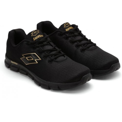 Lotto Black Running Shoes For Men