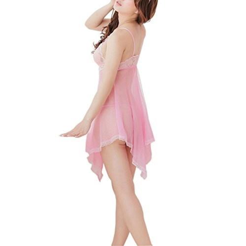 ... Rose Intimate Women s Sexy Night Dress Transparent Gauze Belt  Sleepshirts Babydoll By Rose Intimate ... 9d2c7cf63