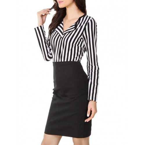 texco black,white cotton jersey shirt