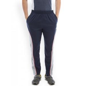 2go ACTIVE GEAR Navy Blue Cotton Dri-Fit Track Pants
