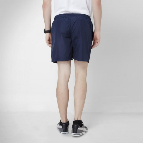 5448fb5552 Buy Kappa Navy Blue Solid Polyester Active Shorts online   Looksgud.in