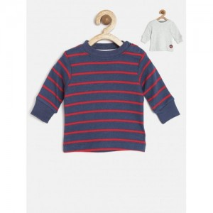 Mothercare Pack of 2 Striped T-Shirts