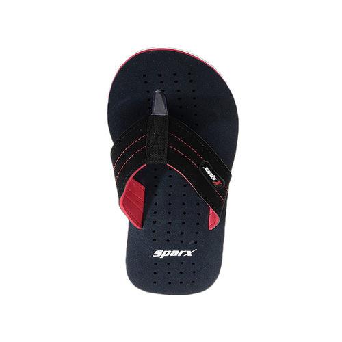Sparx Blue Synthetic Rubber Flip Flops