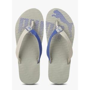 Puma Miami Fashion Grey Solid Flip Flops