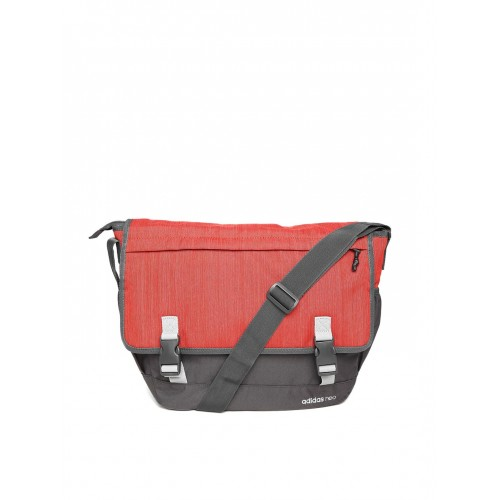 602a4b15749c ... Messenger Bag  Adidas NEO Men Rust Orange   Grey TRNDY Messenger ...