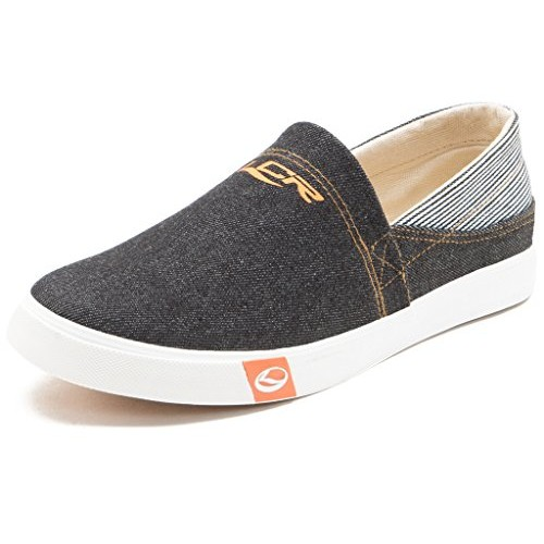 3834ba35301 Buy Lancer Men's Black Slip On Casual Shoes online | Looksgud.in