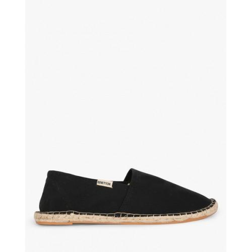 United Colors of Benetton Men's Black Loafer