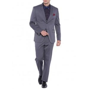 suitltd grey polyester formal blazer