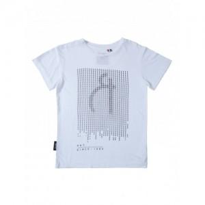 Gini & Jony White Cotton Printed T-Shirt