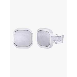 Peora Silver  Coloured Cufflinks