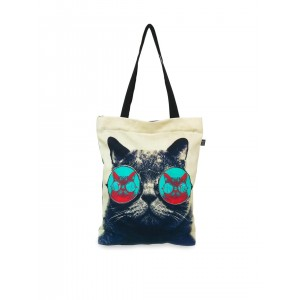 Lemon Trunk Multicoloured Canvas Printed Tote Bag
