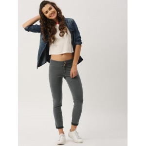 DressBerry Charcoal Grey Jeggings